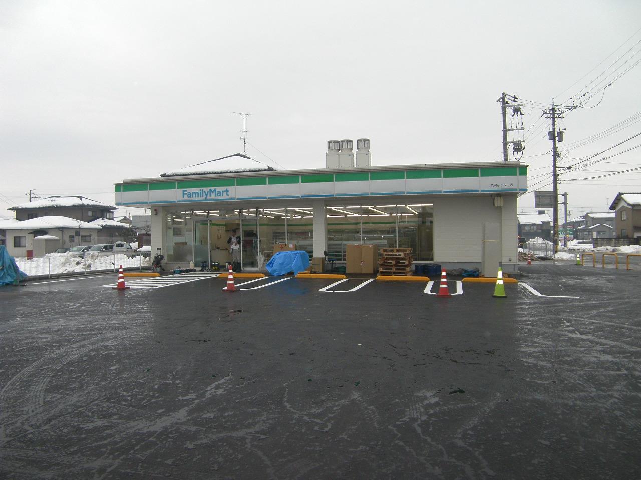 ファミリーマート丸岡インター店移動工事0